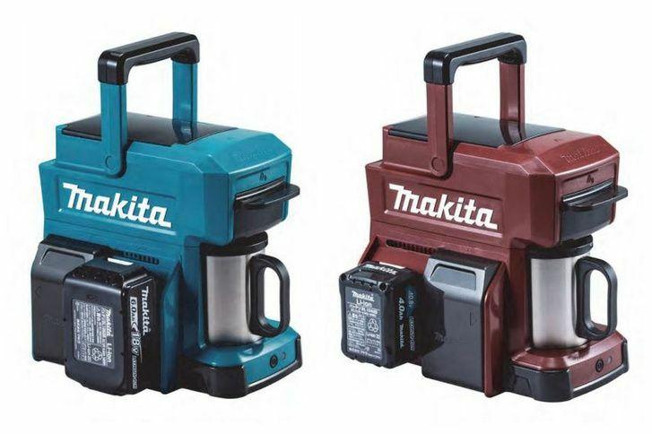 Makita akkus-hordozható kávégép