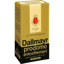 Dallmayr Prodomo koffeinmentes őrölt kávé (0,5kg)